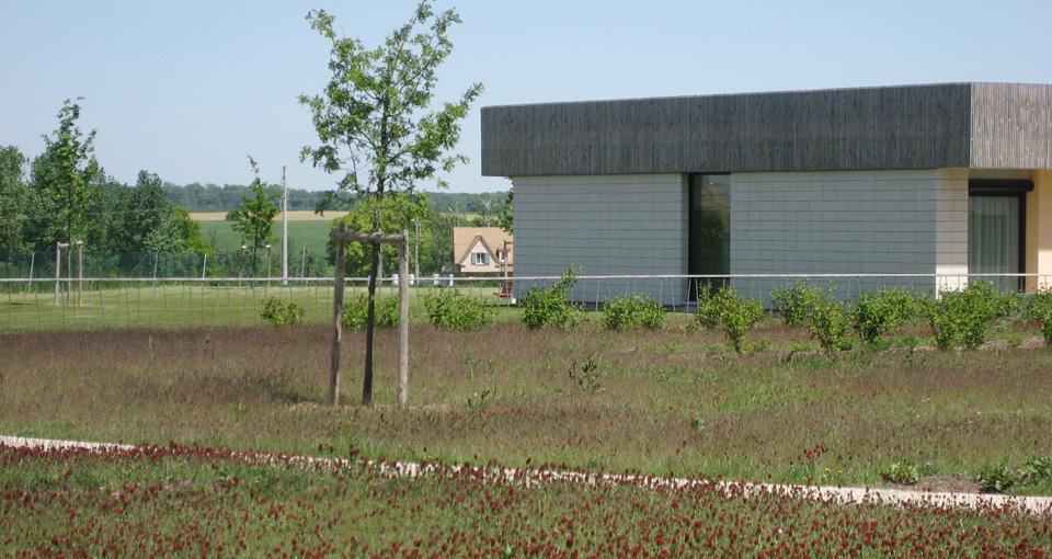 Maison d 39 accueil coulommiers d paysage for Architecte coulommiers