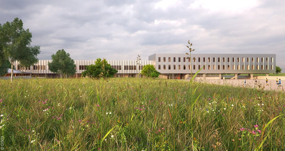 Beautiful Client: Chamber For Trades And Crafts For The Seine Et Marne County Design  Team: Emmanuelle Colboc (lead Architect) And D PAYSAGE (landscape Architect)